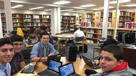 Plainview-Old Bethpage JFK High School students were introduced