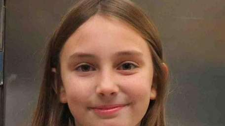 Emma Edwards, a fourth-grader at Westhampton Beach Elementary