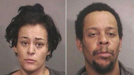 Charlene Hernandez, 29, of Elmont, and Frank W.