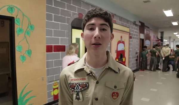 Matt The Scout Boy Credits Version 2: Eagle Scout Hopeful Leads Mural Project At St. Bernard's