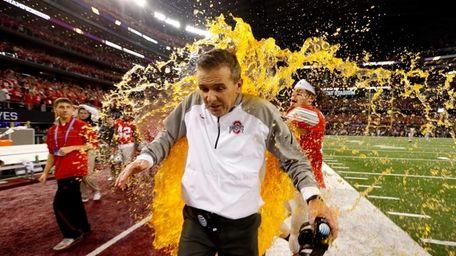 Head Coach Urban Meyer of the Ohio State