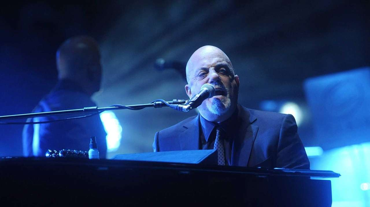 Billy Joel plays Madison Square Garden in Manhattan