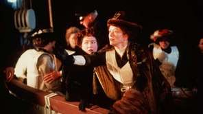 "Kathy Bates, left, and Frances Fisher in ""Titanic."""