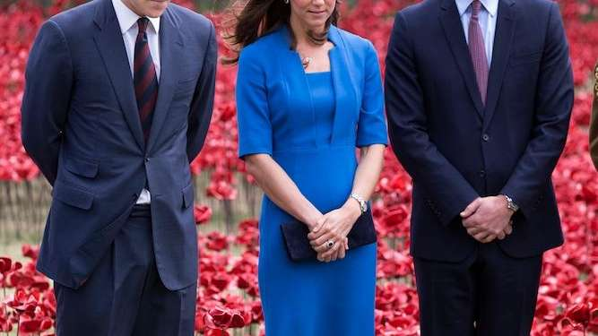 Prince Harry and the Duke and Duchess of