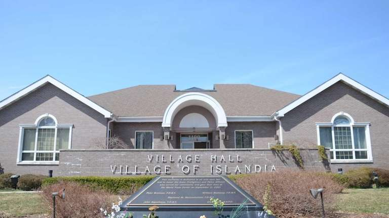 Islandia Village Hall, 1100 Old Nichols Rd., is