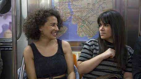 Ilana Glazer, left, and Abbi Jacobson in Comedy