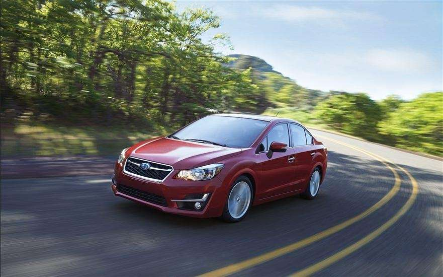 The 2015 Subaru Impreza earned at Top Safety