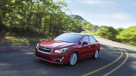 The 2015 Subaru Impreza earned at Top Safety
