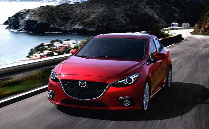 The 2015 Mazda 3 has safety features that