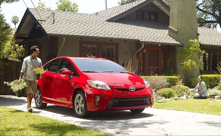 The 2015 Toyota Prius has safety features that