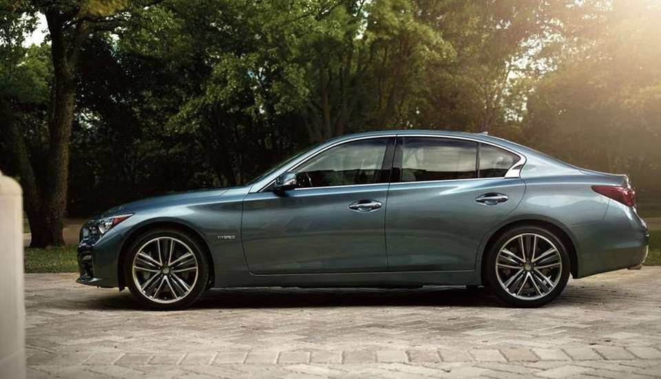 The 2015 Infiniti Q50 earned at Top Safety
