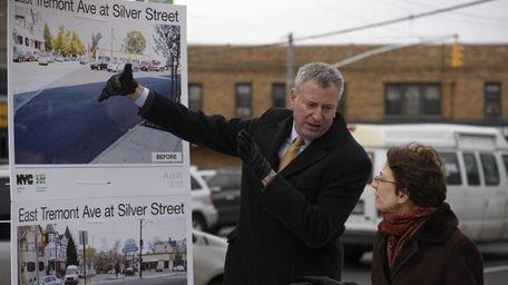 Mayor Bill de Blasio and New York City