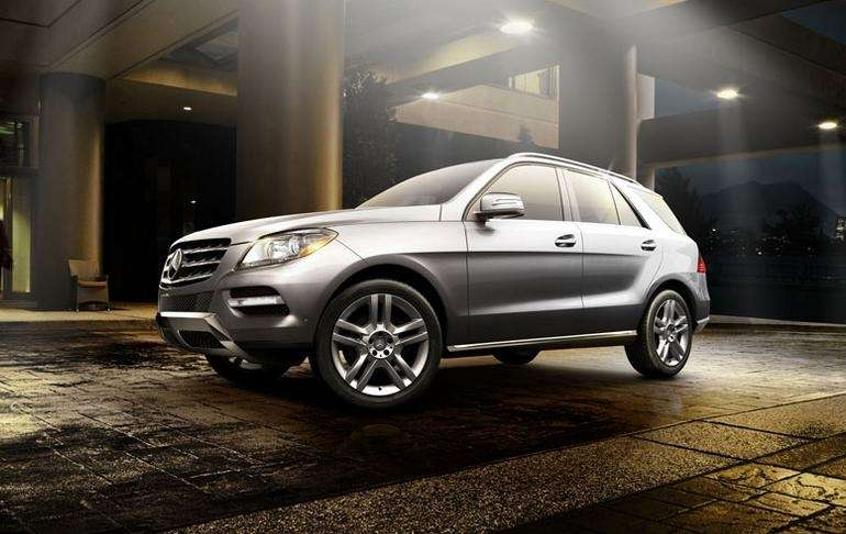 The 2015 Mercedes-Benz M-Class SUV features the company's