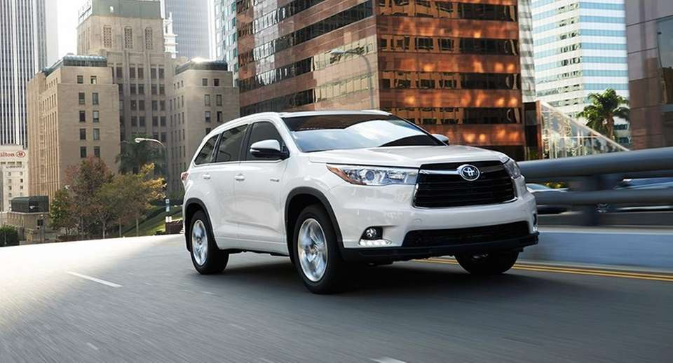 The 2015 Toyota Highlander starts at $29,415 and