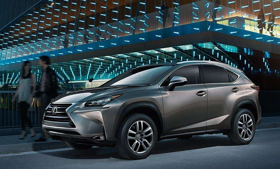 The 2015 Lexus NX features cool tech like