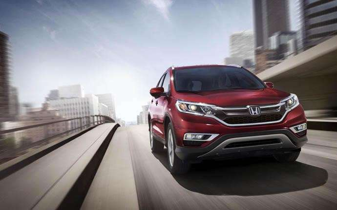 The 2015 Honda CR-V was not only given