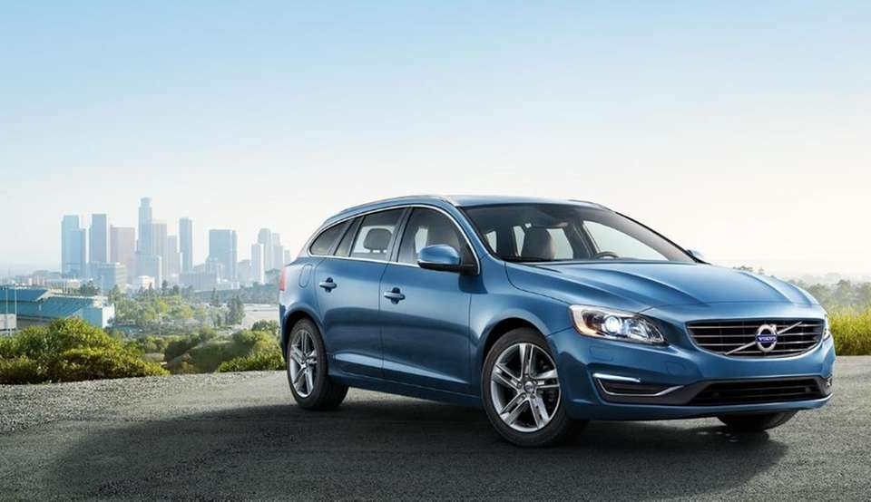 The 2015 Volvo V60 starts at $35,300 and