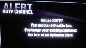 Neil Best's standard-definition television set.