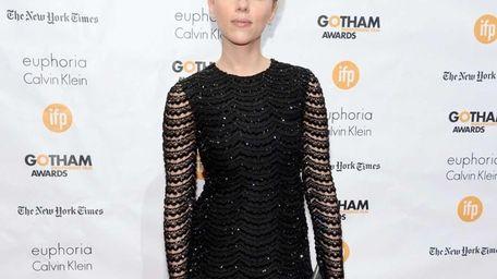 Actress Scarlett Johansson attends the Gotham Independent Film
