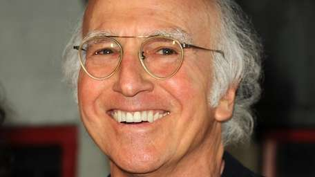 LARRY DAVID, Maryland Comedian and producer Larry David