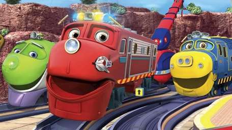 The trains of TV's