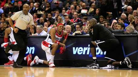 Paul Pierce of the Washington Wizards and Kevin