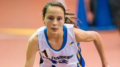 Nora Bennett of Kellenberg begins the race for