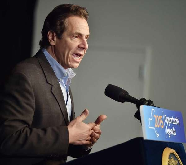 Gov. Andrew M. Cuomo presents the fourth part