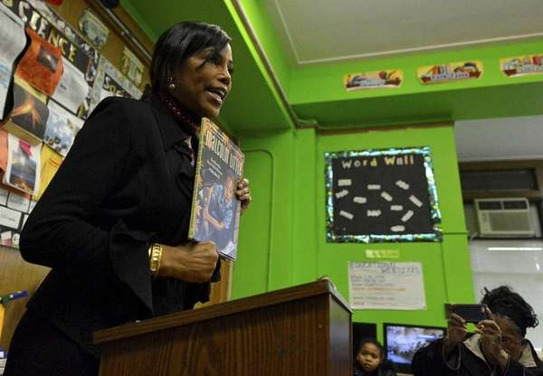 Ilyasah Shabazz, 52, daughter to Malcolm X and