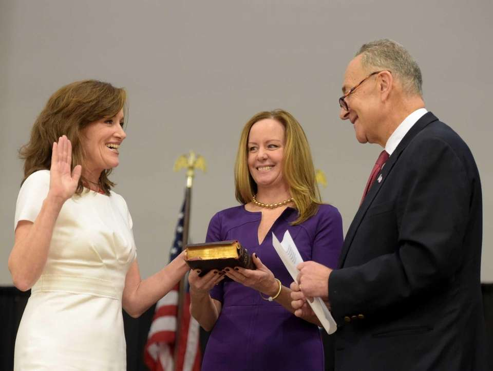 Rep. Kathleen Rice takes the oath of office