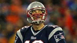FOXBORO, MA - JANUARY 18: Tom Brady #12