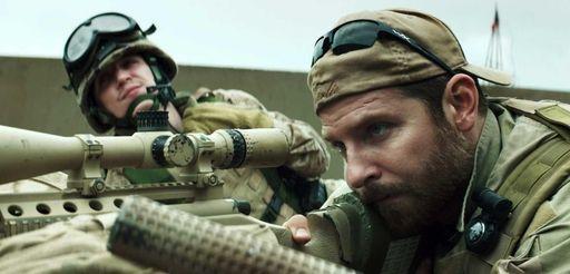 Kyle Gallner, left, and Bradley Cooper appear in