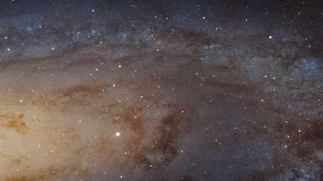 A cropped photo captured with the NASA/ESA Hubble