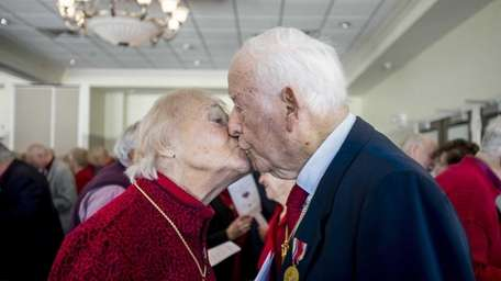 Ruth and Larry Shifman, 90 and 95 years