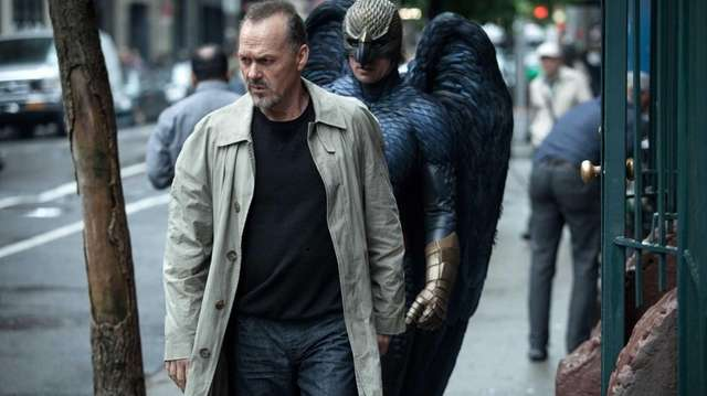 """Birdman,"" starring Michael Keaton, is tied with ""The"