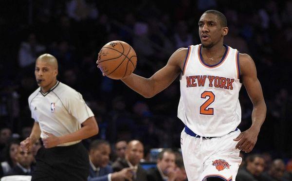 New York Knicks guard Langston Galloway brings the