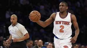 New York Knicks guard Langston Galloway brings the