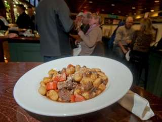 Hearty short rib gnocci is a dish to