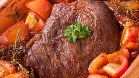 How to cook a pot roast.