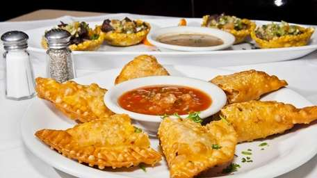 Chicken and cheese empanadas are savory and flaky