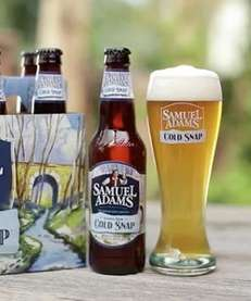 Samuel Adams' Cold Snap will be on the