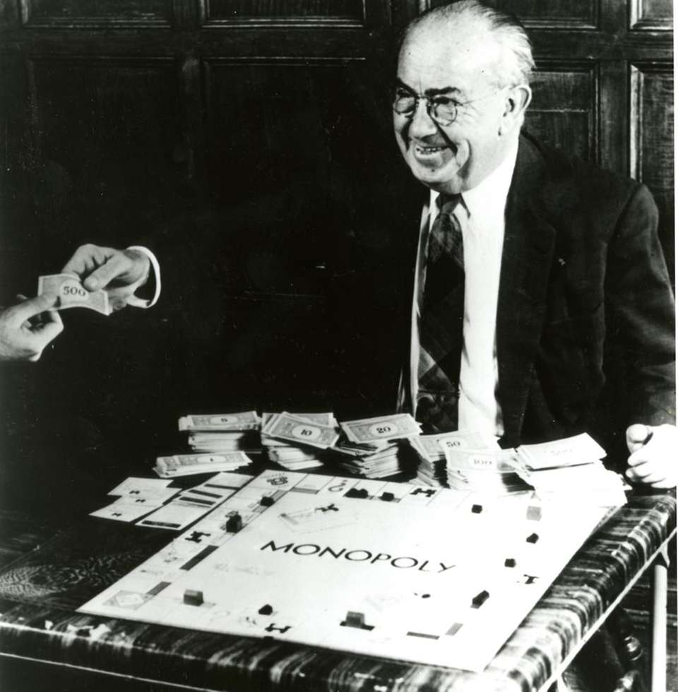 Charles Darrow of Philadelphia first developed the Monopoly