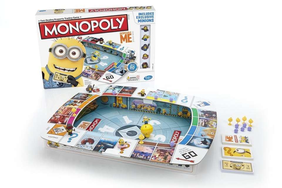 More than 300 licensed versions of the Monopoly