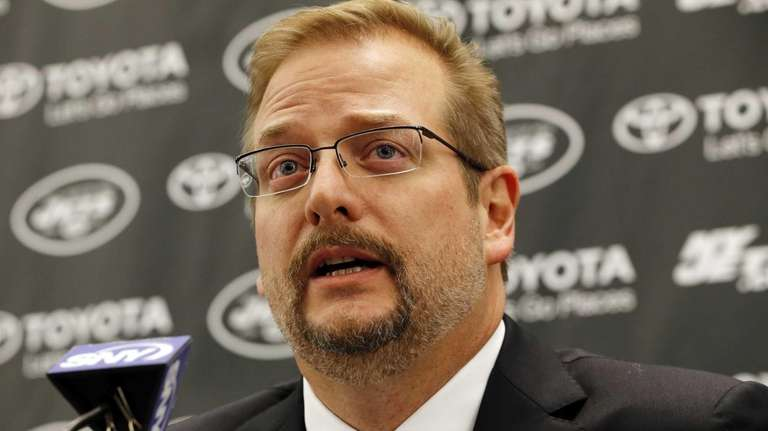 New York Jets new general manager Mike Maccagnan