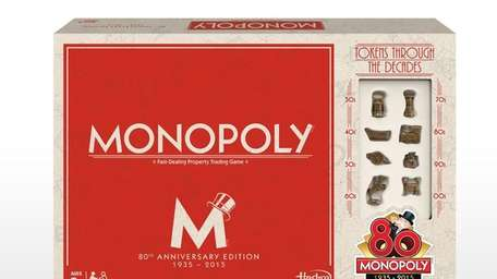 This year celebrates the 80th anniversary of Monopoly.