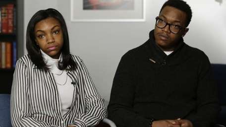 Jamel, right, and Danita McNair, the children of