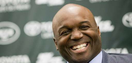 Todd Bowles at his introductory news conference at