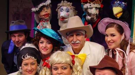 The cast of Little Bo-Peep and the Great