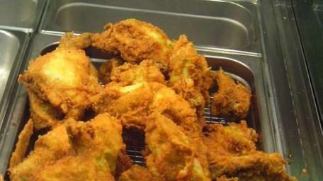 Fried chicken is a signature dish at the