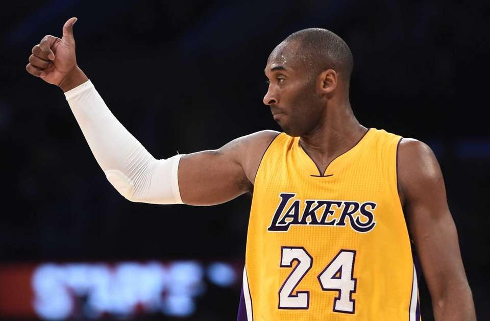 Kobe Bryant Los Angeles Lakers guard
